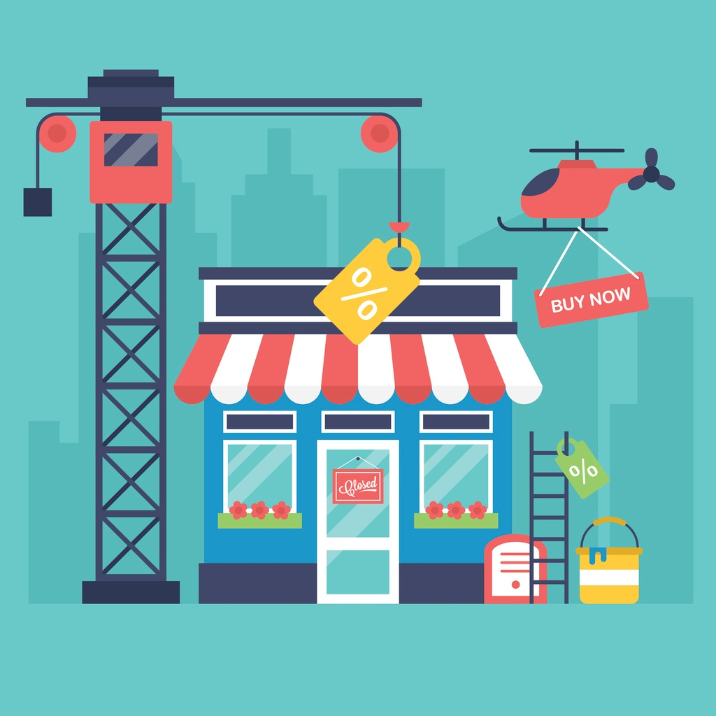 Illustration of maintaining and optimizing a google my business listing